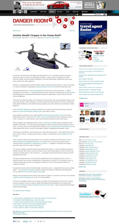The Aviationist » In the News 2011