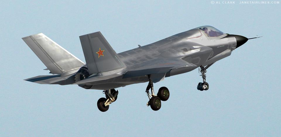 J 18 Fighter http://www.indiandefence.com/forums/china/17386-new-chinese-vertical-short-take-off-landing-fighter-j-18-a.html