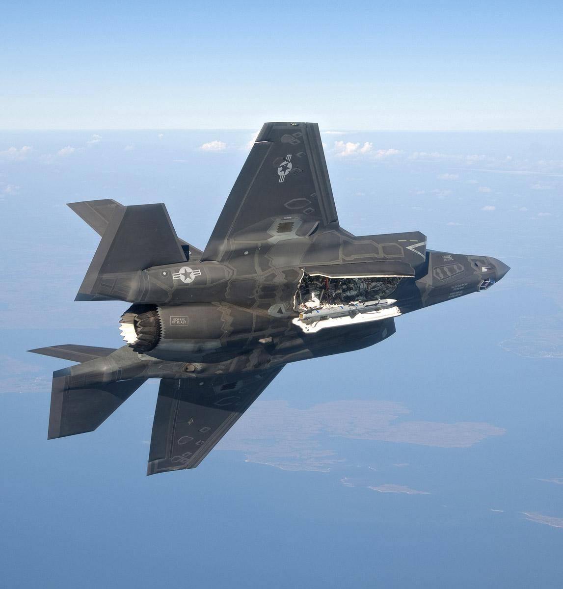 F 35 Internal Weapons Bay