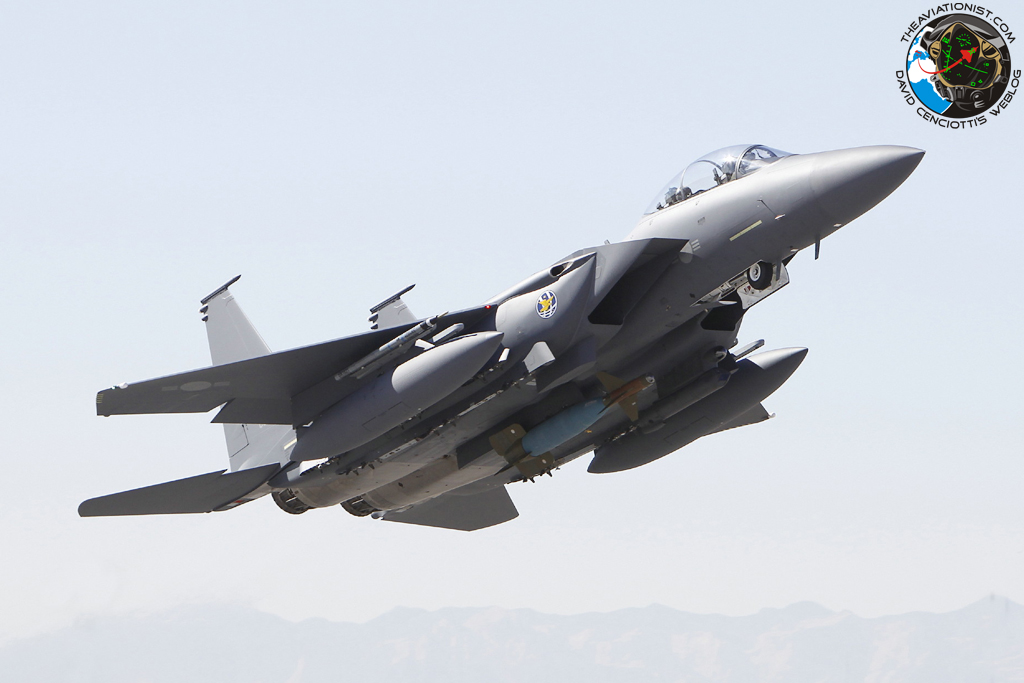 South korean f 15k scrambled in response to north korea's northern