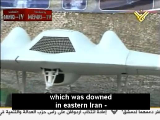 México podría estar interesado en adquirir UAVs iraníes Rq170-on-display